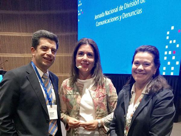 Soledad Garces y Francisca Bascuñan