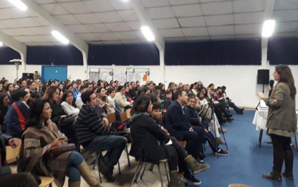 Charla Colegio Inglés Católico de La Serena
