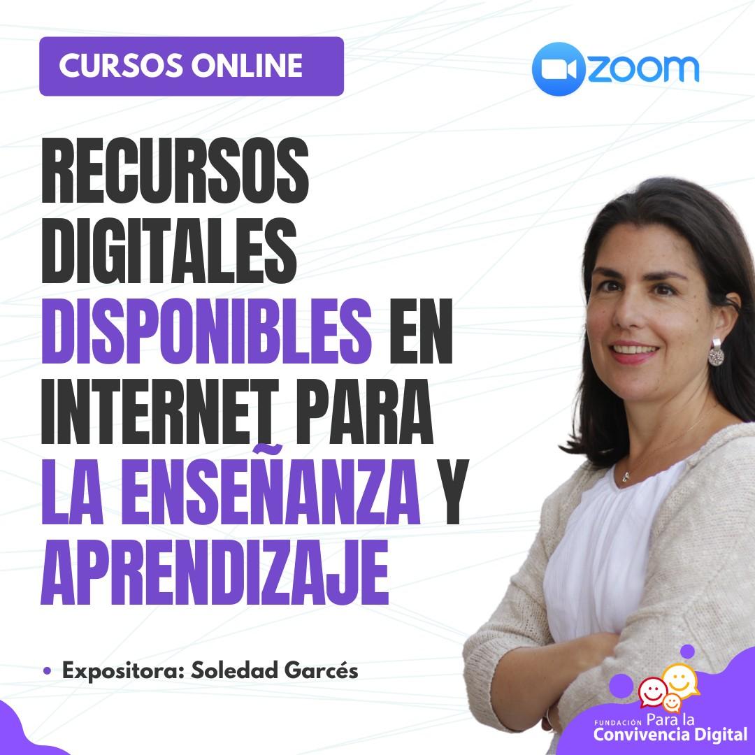 Recursos digitales disponibles en internet para la enseñanza y aprendizaje