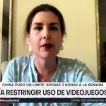 """Soledad Garcés en entrevista con 24 Horas: """"Los videojuegos tienen un impacto negativo que es importante considerar"""""""