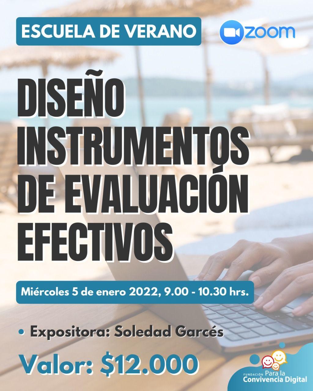 Diseño instrumentos de evaluación efectivos