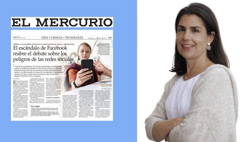 Entrevista en El Mercurio