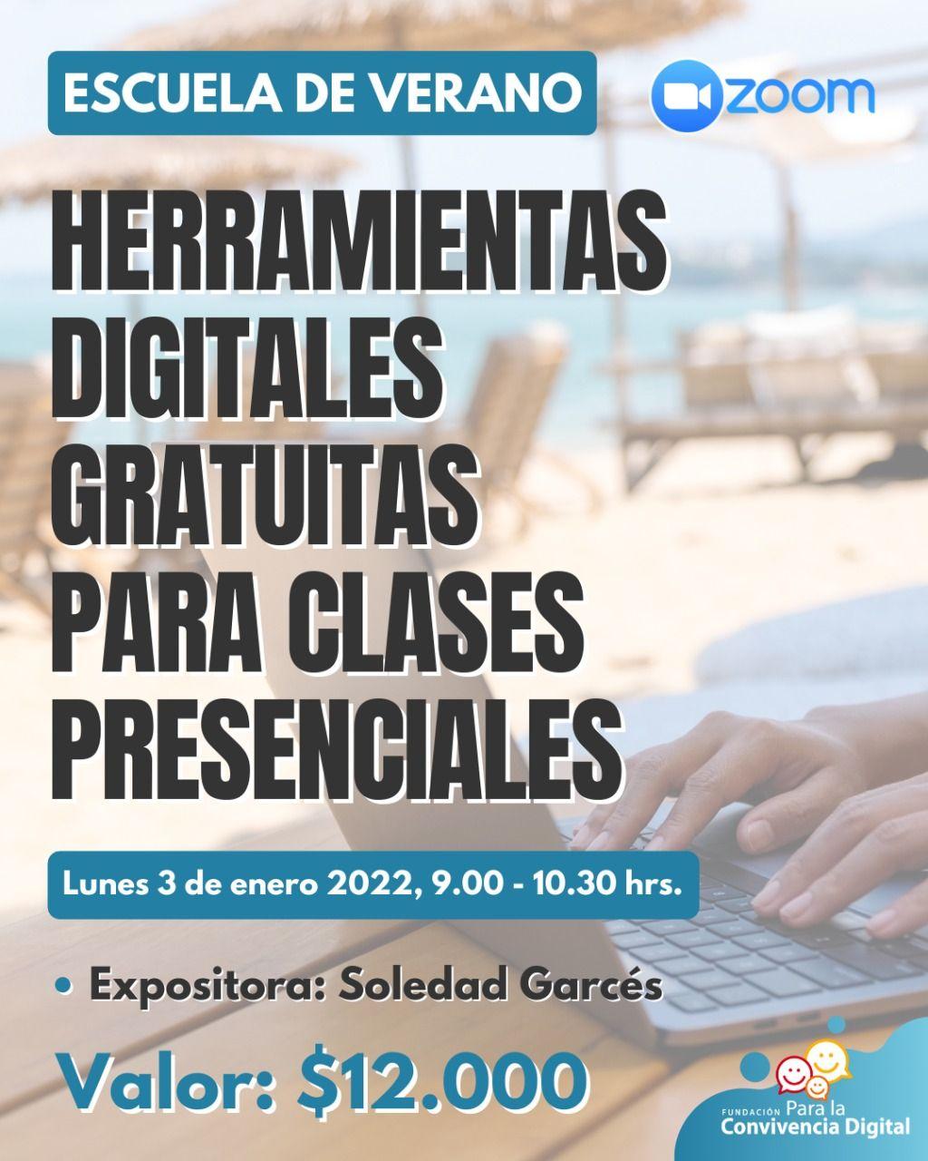 Herramientas digitales gratuitas para clases presenciales